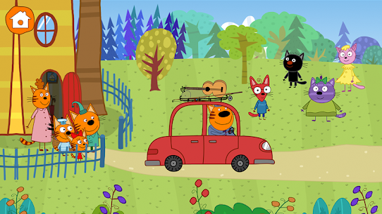Kid-E-Cats: Picnic with Three Cats・Kitty Cat Games 8