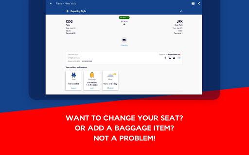 Air France - Airline tickets 5.1.0 Screenshots 14