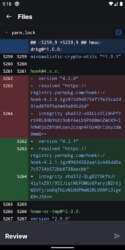 GitHub modavailable screenshots 4