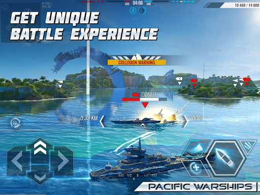 Pacific Warships: World of Naval PvP Warfare  screenshots 8