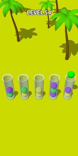 Color Sort 3D: Fun Sorting Puzzle - Ball Stack 0.3.3 screenshots 1