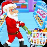 Santa Go Shop - Supermarket Games