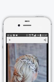 Wedding hairstyles 2018 2.2 Screenshots 5