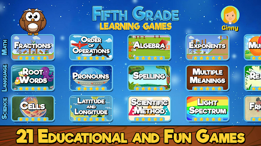 Fifth Grade Learning Games apkpoly screenshots 1