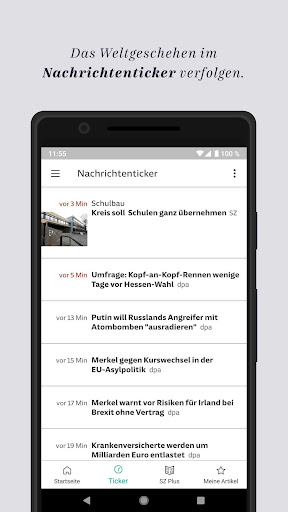 SZ.de - Nachrichten - Süddeutsche Zeitung  screenshots 4