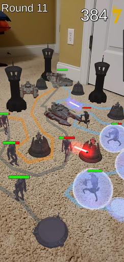 Clone WARs Tabletop Tower Defense Apk 1.0 screenshots 2