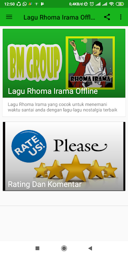 lagu rhoma irama offline screenshot 2