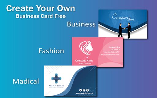 Business Card & Invitation Maker android2mod screenshots 3