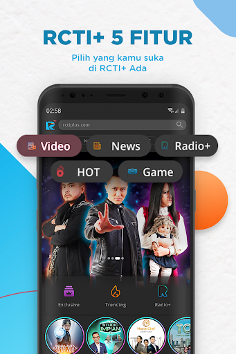 RCTI+ | Video, News, Radio, Talent Search & Games  Screenshots 1