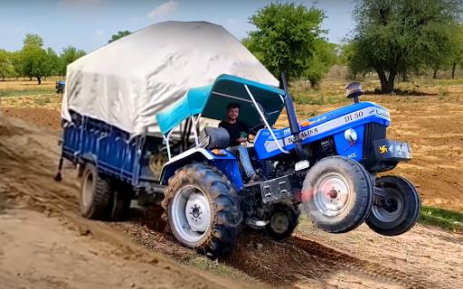 Heavy Tractor Pulling & Farming Drive Simulator screenshots 3