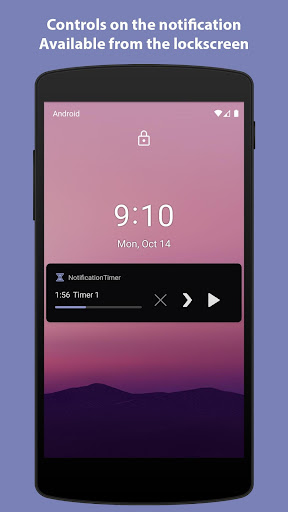 Notification Timer - Countdown 1.5.2 screenshots 1