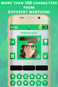 Webtoon Quiz 1.4 (MOD + APK) Download 3
