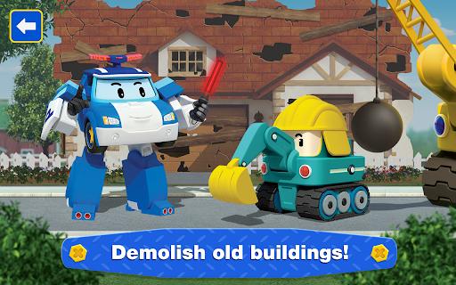 Robocar Poli: Builder! Games for Boys and Girls!  screenshots 11