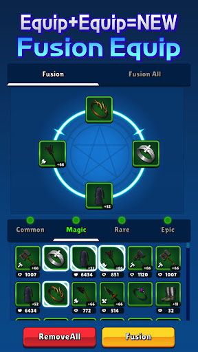 Grow Knight : idle RPG apkdebit screenshots 4