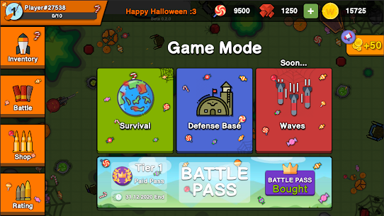 Zombie Battle Royale : 2D Tower Defense Offline TD Hack Game Android & iOS 1