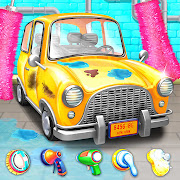 Car Wash & Repair Garage Kids Car Mechanic Games