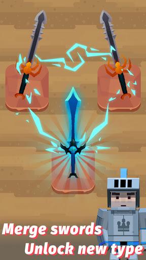 Merge Sword - Idle Blacksmith Master 1.4.4 screenshots 1
