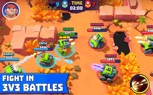 Tanks A Lot! - Realtime Multiplayer Battle Arena 2.75 screenshots 9