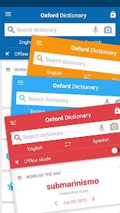 Oxford Spanish Dictionary [Premium + Data] 3