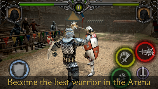Knights Fight: Medieval Arena Mod Apk 1.0.21 (A Lot of Resources) 5