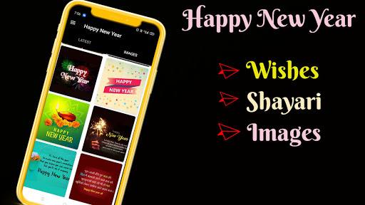 Happy New Year Wishes With Images 2021 1.0.3 Screenshots 1