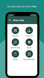 Free Whats Web for WhatsApp (No Ads) 1
