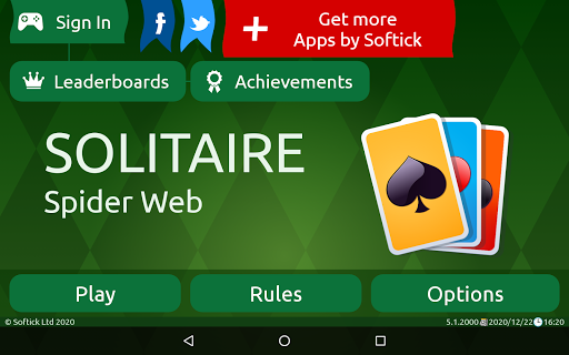 Spider Solitaire (Web rules)  screenshots 24