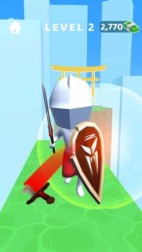 Sword Play! Ninja Slice Runner 3D  screenshots 5