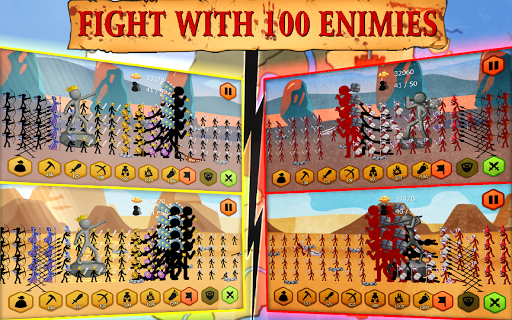 Stickman Battle 2020: Stick War Fight 1.4.1 screenshots 18