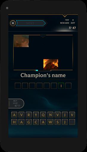 Quiz of League of Legends 10.21 screenshots 14