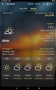 Weather & Clock Widget for Android 6.3.1.2 Screenshots 15