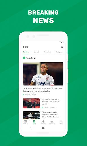 FotMob - Soccer Live Scores screen 2
