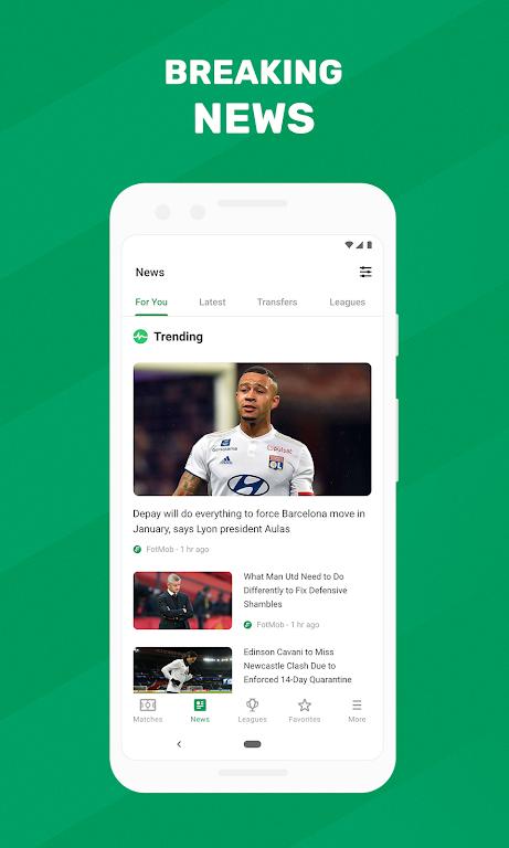 FotMob - Soccer Live Scores poster 2