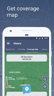 Meteor: Speed Test for 3G, 4G, 5G Internet & WiFi Screenshot