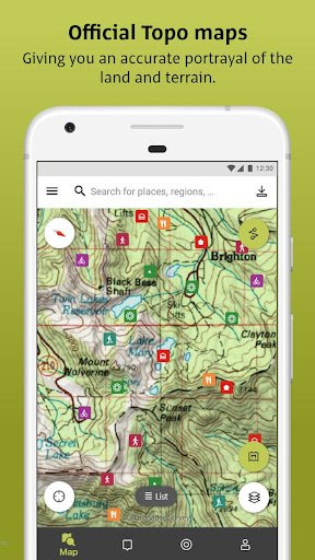 Outdooractive: Hiking & Biking Trails, GPS & Maps 3.3.28 Screenshots 2