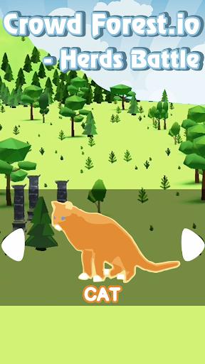 Crowd Forest.io - Herds Battle  screenshots 7