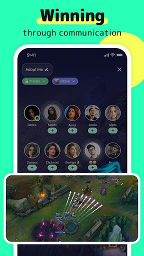 TIYA - Voice Chat Platform for Global Gamers apktram screenshots 3