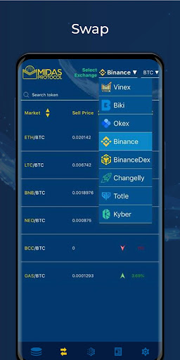 Midas Crypto Wallet: Bitcoin, Ethereum, XRP, EOS 1.9.5 Screenshots 5