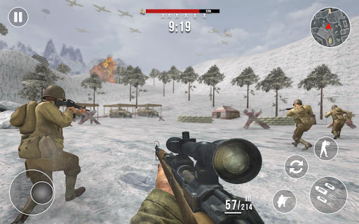 World War 2 Frontline Heroes: WW2 Commando Shooter apkdebit screenshots 5