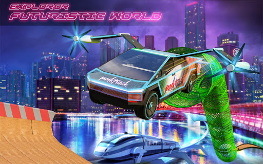 Extreme Stunts Car Chase Ramp GT Racing Car Games screenshots 10