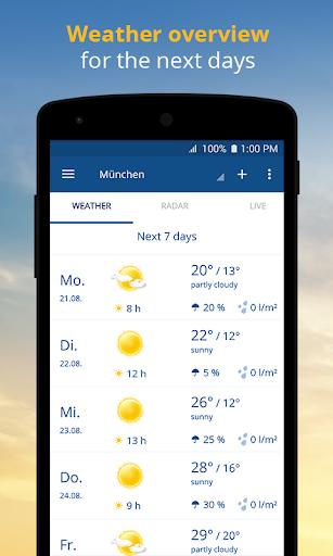 wetter.com - Weather and Radar 2.43.5 Screenshots 2