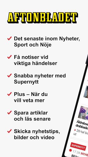 Aftonbladet Nyheter apktram screenshots 1
