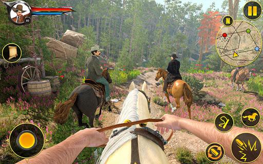Cowboy Horse Riding Simulation : Gun of wild west 5.1 screenshots 1