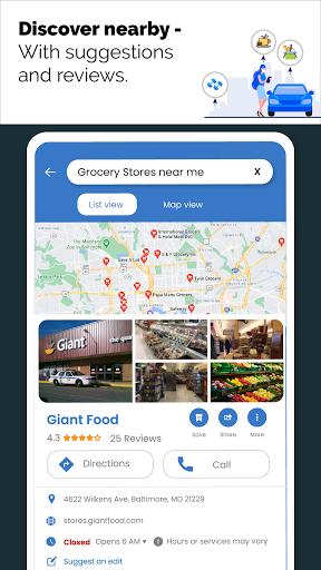 GPS Live Navigation, Maps, Directions and Explore  Screenshots 7