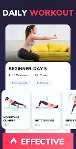 Lose Weight App for Women – Workout at Home 1.0.22 Apk 4