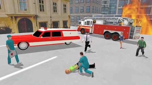 Ambulance Simulator - Car Driving Doctor screenshots 12