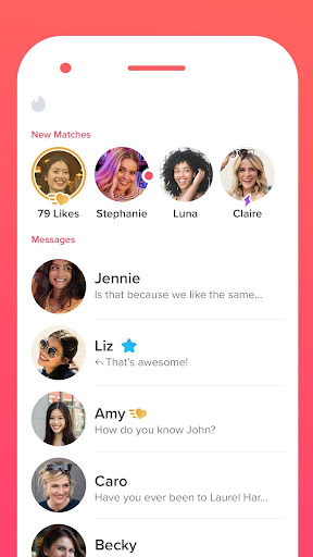 Tinder - Dating, Make Friends and Meet New People  screen 2