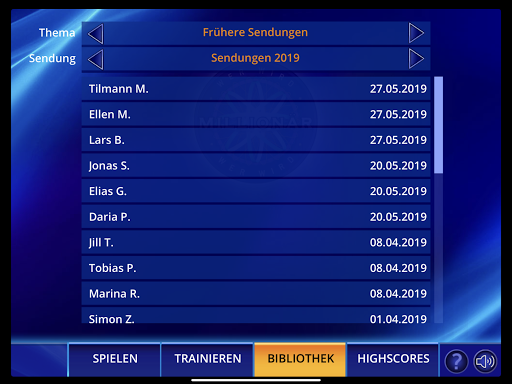 Wer wird Millionu00e4r? Trainingslager 2.0.76 screenshots 16