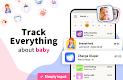 screenshot of Baby Tracker, Feeding, Diaper, Sleep for Newborn