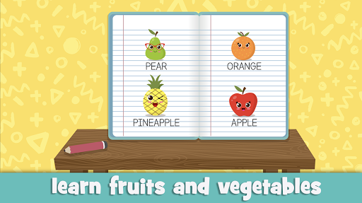 Learn fruits and vegetables - games for kids 1.5.4 screenshots 6